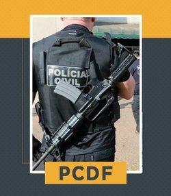 Pacote Completo para Agente da PCDF