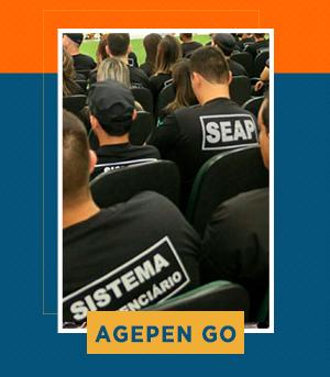 Combo - Agente Penitenciário do GO (AGEPEN GO) + Agente de Execução Penal do DF (AGEPEN DF)