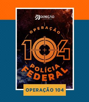 Combo - Agente da PF + Policial Rodoviário Federal (PRF) + Agente da PCDF + DEPEN