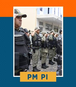 Pacote Completo para Soldado da PM PI