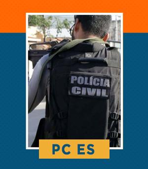 Pacote completo para Escrivão de Polícia da PC ES
