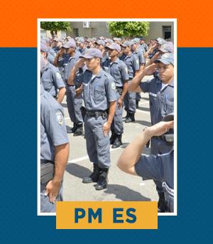 Pacote Completo para Oficial da PM ES