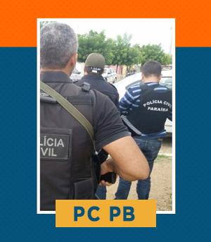 Pacote Completo para Escrivão da PC PB