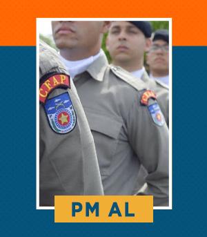 Pacote completo para Soldado da PM AL