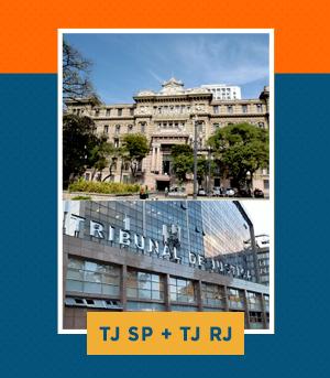 Combo - TJ RJ (Técnico) + TJ SP (Escrevente)