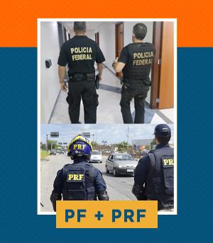 Combo - Agente da PF + Polícia Rodoviária Federal - PRF (Pré-Edital)