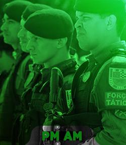 Pacote completo para Soldado da PM AM