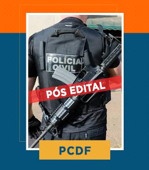 Pacote Completo para Escrivão da PCDF