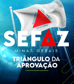 Pacote completo para Auditor Fiscal do ICMS MG