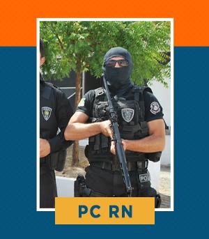Pacote Completo para Agente e Escrivão da PC RN