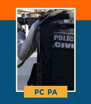 Pacote Completo para Investigador e Escrivão da PC PA