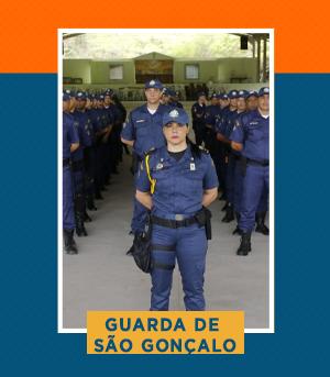 Pacote completo para Guarda de São Gonçalo (RJ)