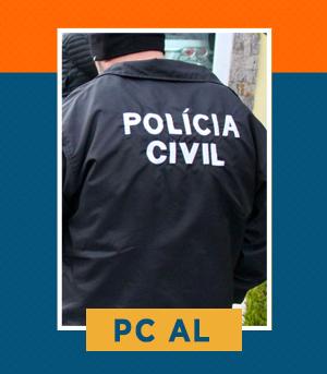 Pacote completo para Agente e Escrivão da PC AL